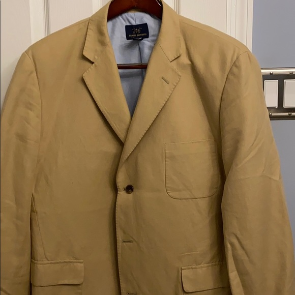 Brooks Brothers Other - Brooks Brothers Tan Linen/Cotton Sportcoat